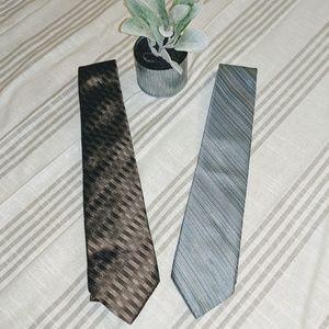 VintageOscar De La Renta Tie Bundle